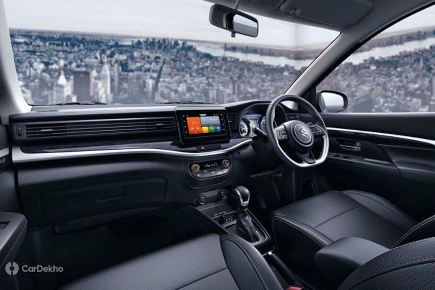 Suzuki XL6 interior