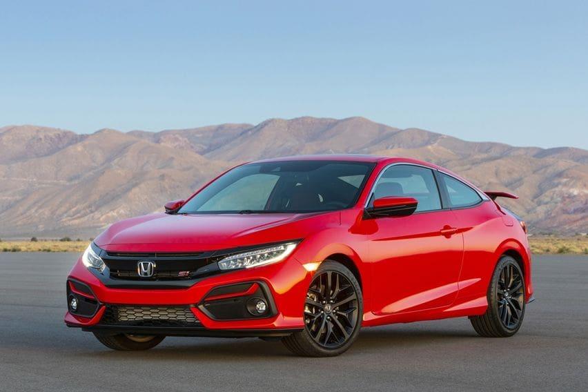Honda Civic Si Coupe Mendapat Perubahan untuk 2020