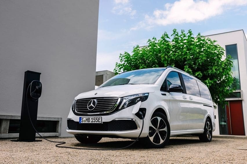 MPV Mewah Berjantung Elektrik Pertama di Dunia, Buatan Mercedes-Benz