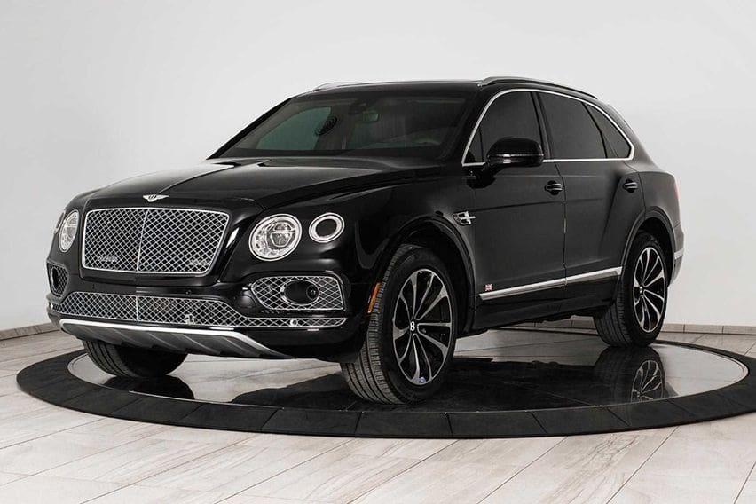 Tahan Dua Granat Tangan, Bentley Bentyaga Lapis Baja Dijual Rp 7 Miliaran