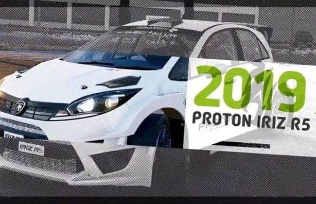 Check out 2019 Proton Iriz R5 in WRC 8 video game