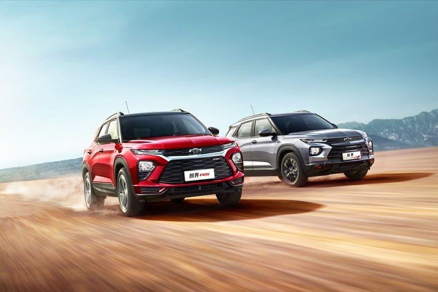 Barang Baru, Chevrolet Trailblazer 1.3 Turbo Harganya Mirip Wuling Almaz