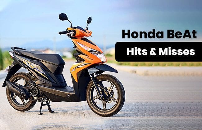 Honda BeAt Scooter 2019 [Hits and Misses]