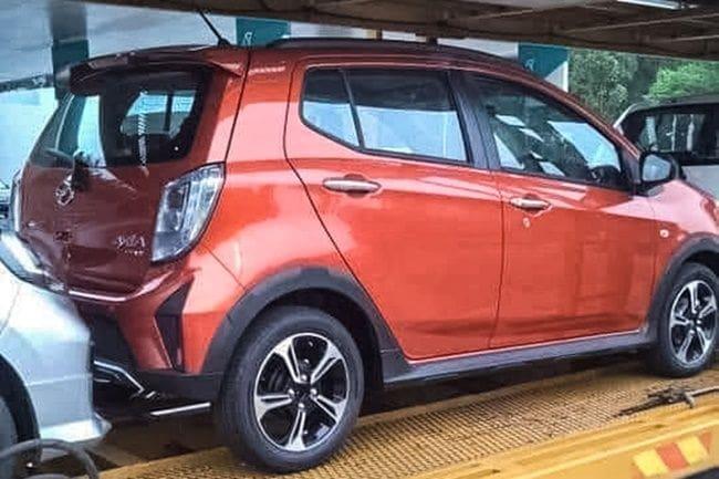 Perodua Axia Facelift, Kembaran Daihatsu Ayla Mulai Menampakkan Diri