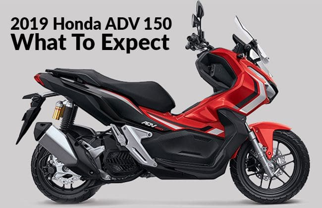 2019 Honda ADV 150 - What to expect