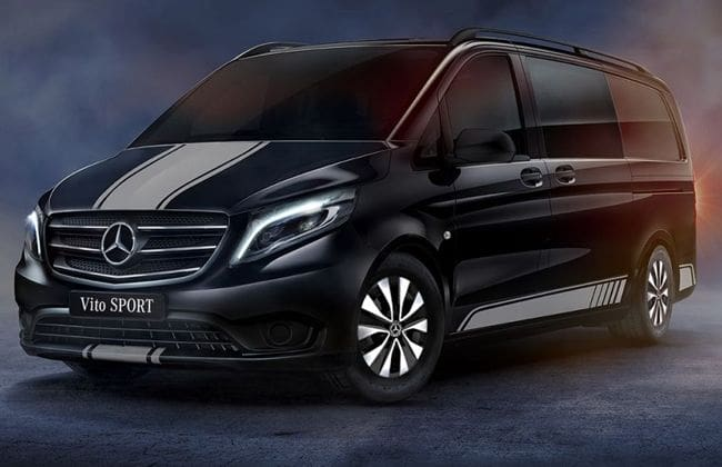 Mercedes-Benz Vito Sport is a perfect blend of style and practicality