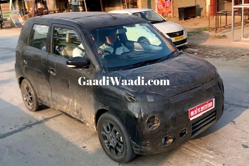 Tertangkap! Suzuki Wagon R Versi Premium Sedang Diuji Coba di India.