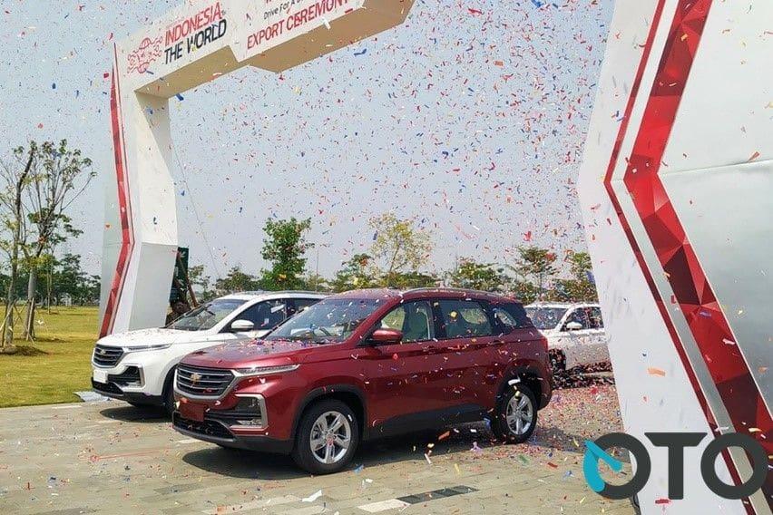 Wuling Almaz Berlabel Chevrolet Captiva Dikapalkan ke Tiga Negara