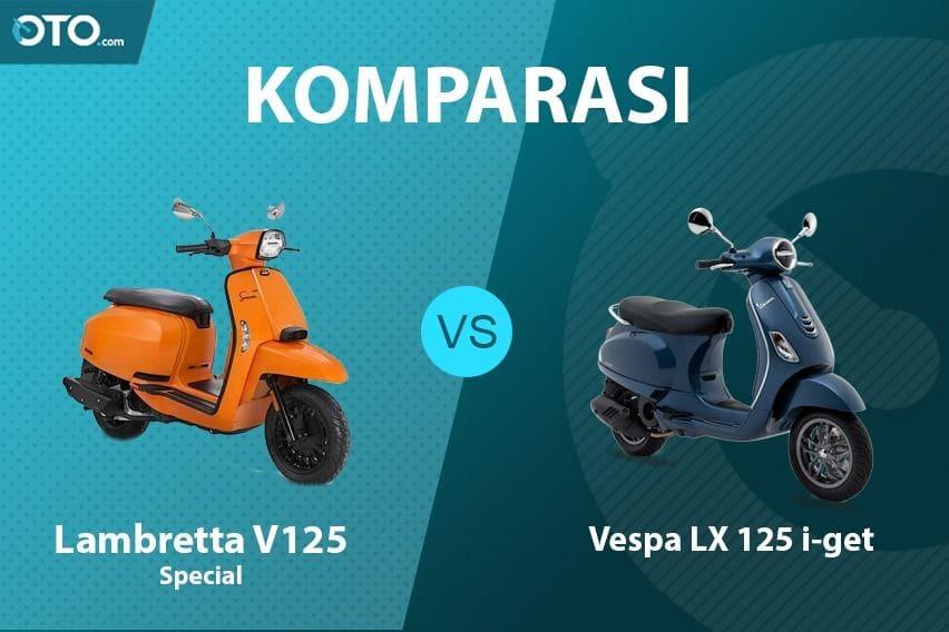 Adu Gengsi, Lambretta V125 Special VS Vespa LX 125 i-get