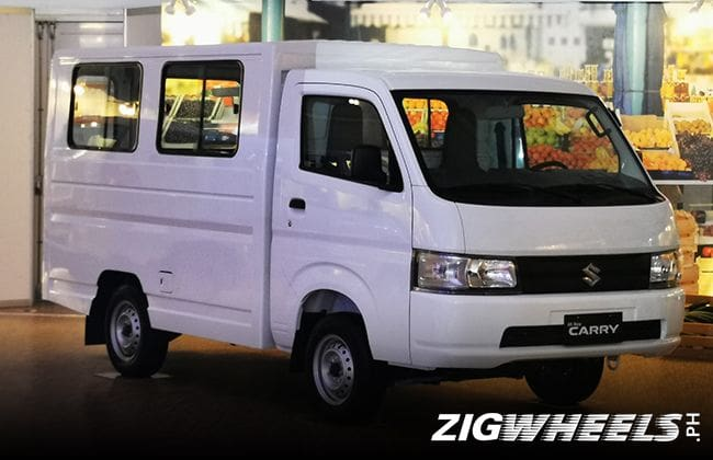 Suzuki Carry introduced in the Philippines