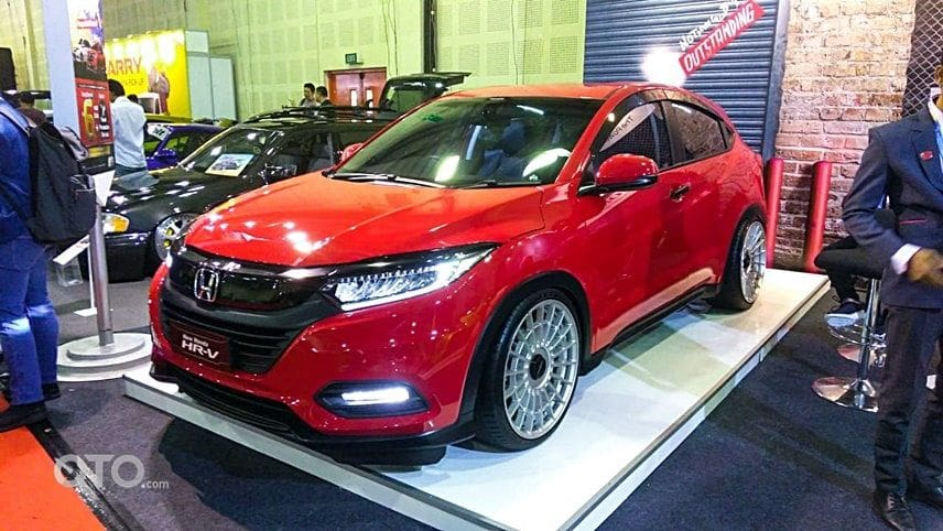 Honda HRV modif