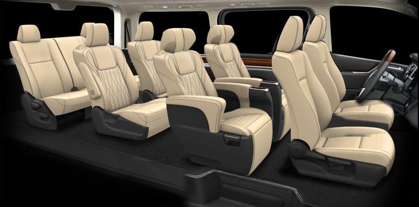Toyota GranAce interior