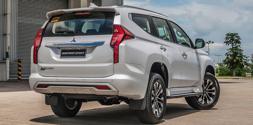2020 Mitsubishi Montero Sport rear