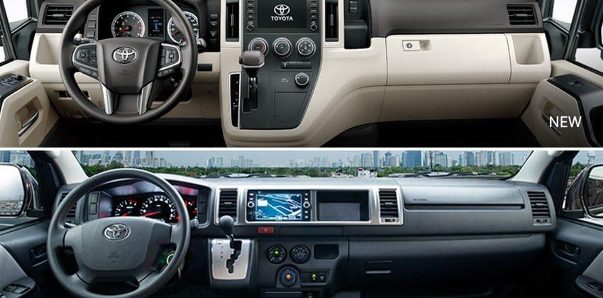 2020 Toyota Hiace Super Grandia interior