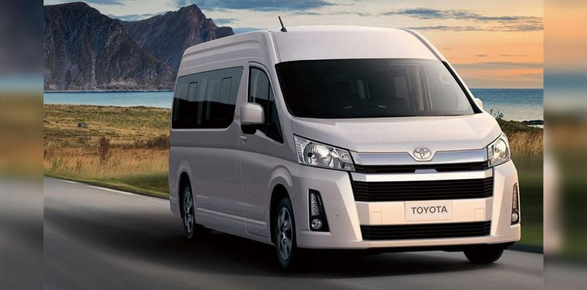 2020 Toyota Hiace front