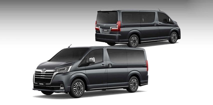 2020 Toyota Hiace Super Grandia exterior