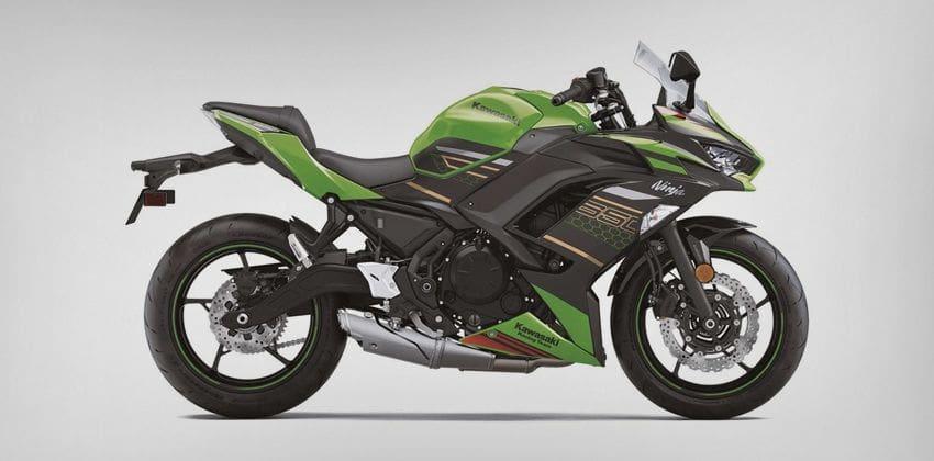 2020 Kawasaki Ninja 650 side