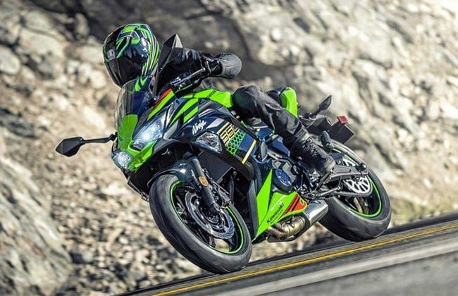 2020 Kawasaki Ninja 650 revealed, gets a full-colour TFT-LCD screen