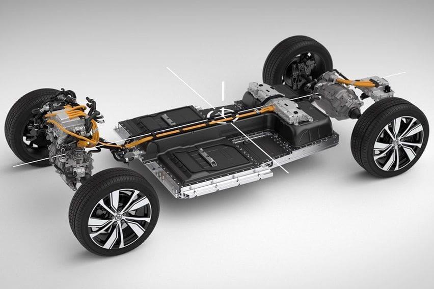 Volvo electric platform