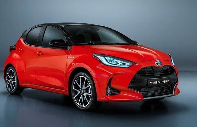 Fourth-gen Toyota Yaris unveiled