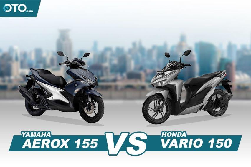 Yamaha Aerox vs Honda Vario