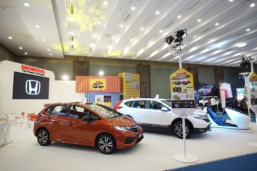 Ragam Program Kredit dari Honda di GIIAS Medan 2019