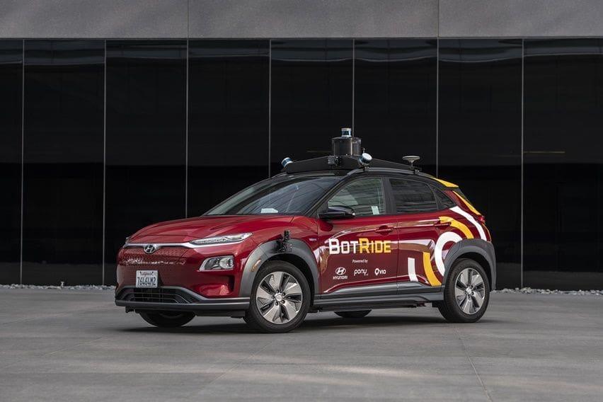 Berbasis Kona Elektrik, Hyundai Kembangkan Mobil Otonom