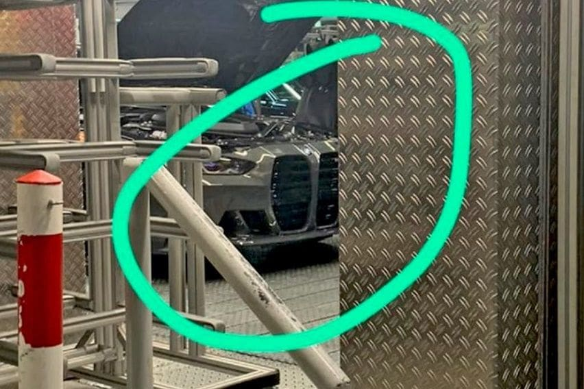 grille baru BMW