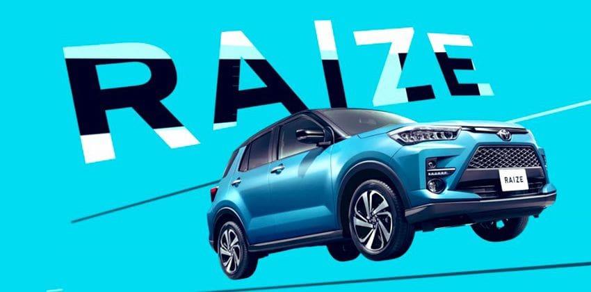 Toyota Raize brochure