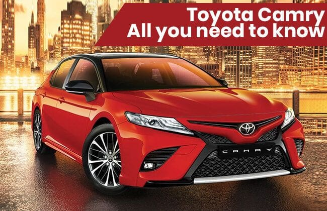 Toyota Camry-All you need to know