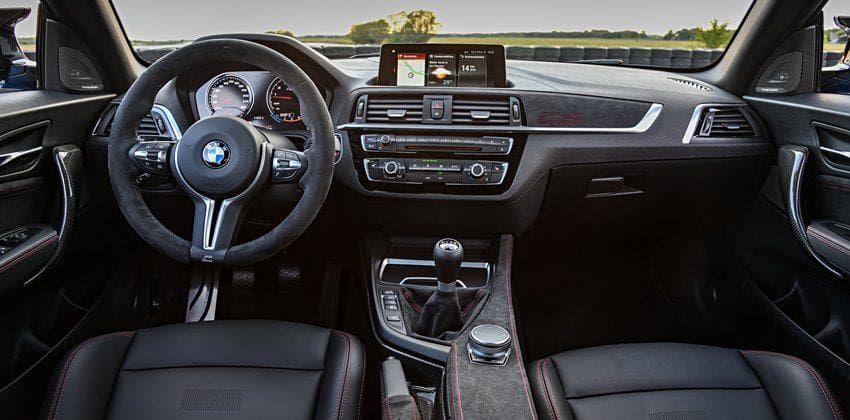 BMW M2 CS dashboard