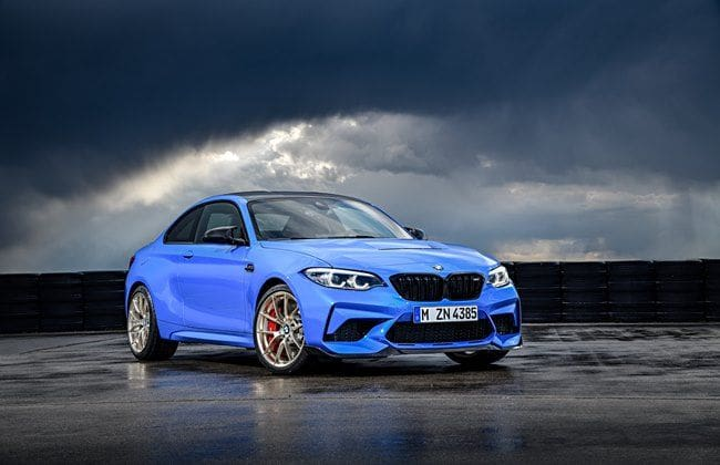 2020 BMW M2 CS Comes With Manual And Hefty Diet
