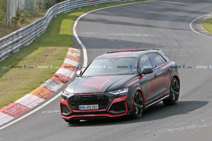 Belum Resmi Diluncurkan, Audi RS Q8 buat Geger Jagad Super SUV di Nürburgring