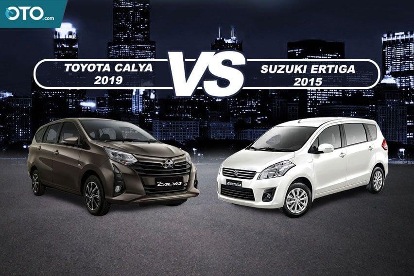 Budget Rp 150 Jutaan, Pilih Toyota Calya Baru atau Suzuki Ertiga GX Bekas