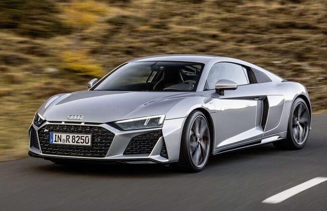 2020 Audi R8 V10 RWD returns as a standard model