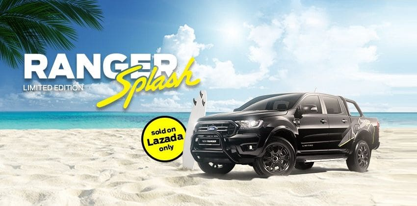 Ford Ranger Splash limited edition