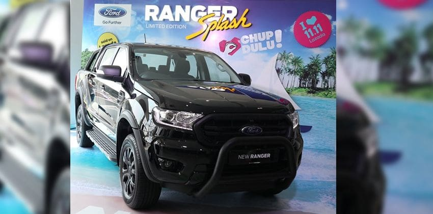 Ford Ranger Splash front