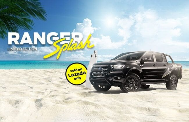 All 19 units of Ford Ranger Splash Limited Edition booked