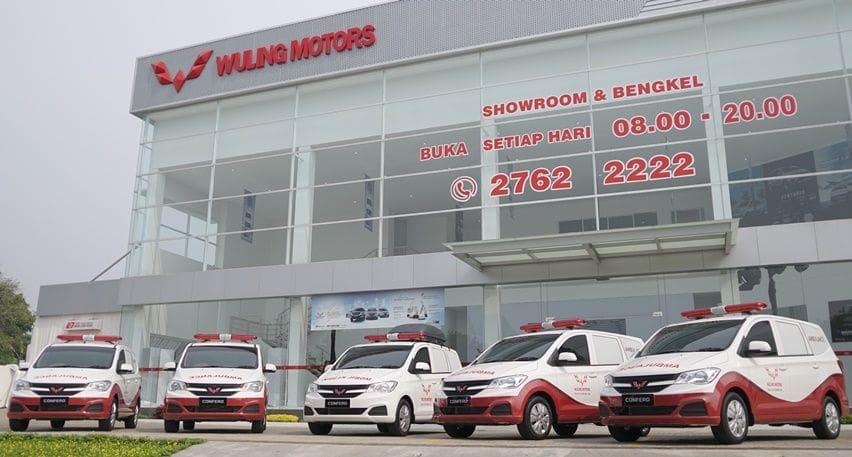 Bentuk Kepedulian di Bidang Kesehatan, Wuling Donasikan Ambulans dan Mobil Klinik