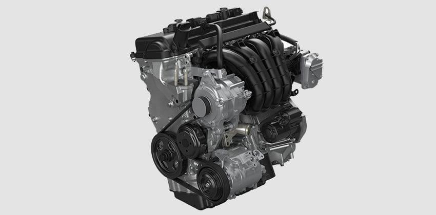 Mitsubishi Xpander Cross engine