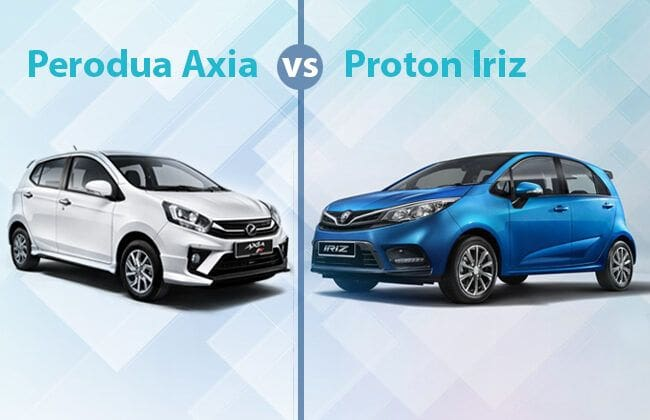 Perodua Axia vs. Proton Iriz - The better pick