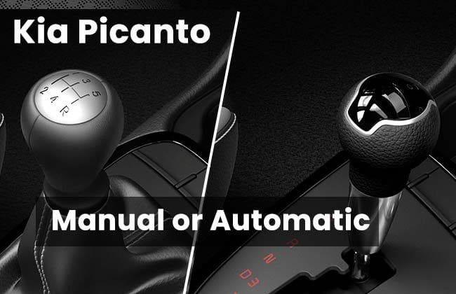 Kia Picanto - Manual or Automatic