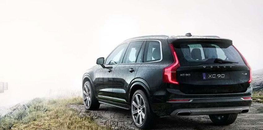 2020 Volvo XC90 rear