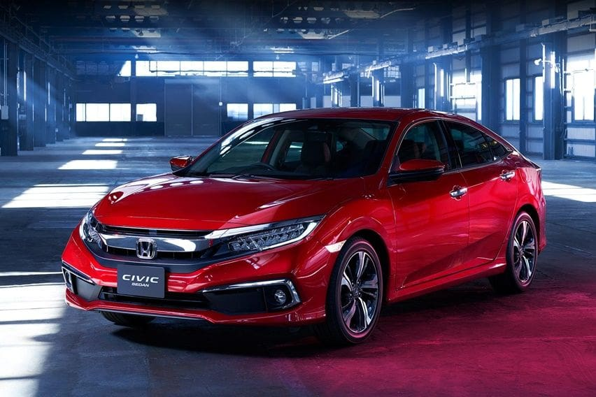 Deret Ubahan Honda Civic Facelift 2020
