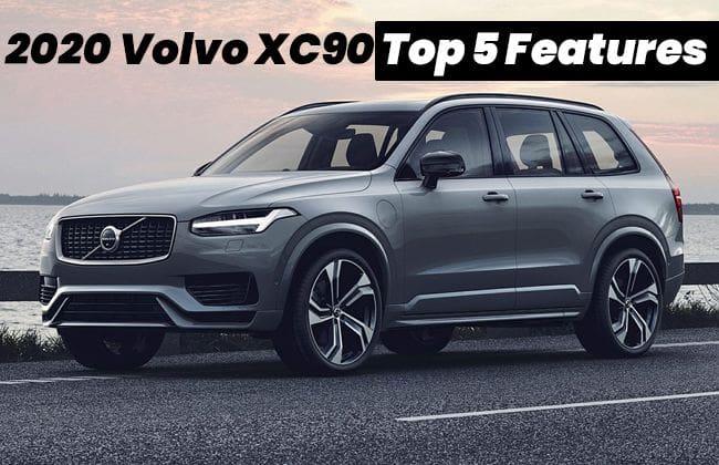 2020 Volvo XC90 - Top 5 features