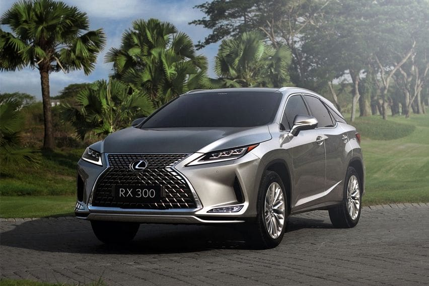 Lexus Indonesia Perbarui SUV RX 300, Desainnya Makin Tajam