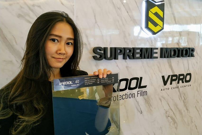 Supreme Motor, Distributor V-Kool Tawarkan Promo Menarik di OTO Lucky Drive 2019