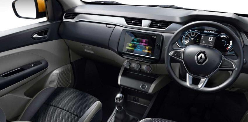 2019 Renault Triber interior
