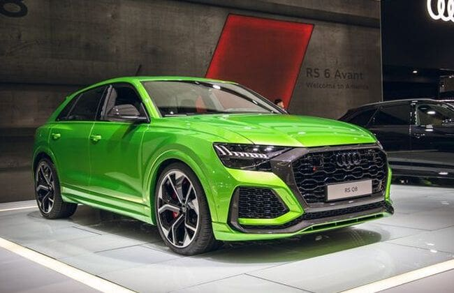 Audi RS Q8 is the new high-performance version of mid-size SUV Q8