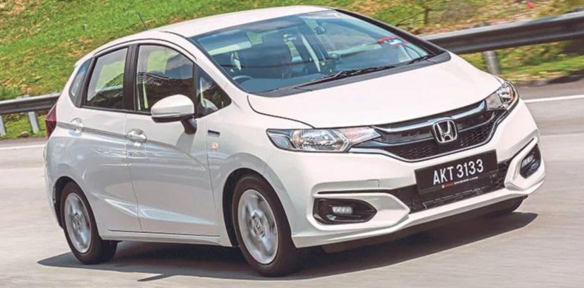 Honda Jazz front